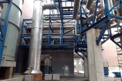 Uuden rikkihappotehtaan putkisiltojen, rakennusten teräsrakenteiden ja säiliöiden paikkamaalaustyöt. 2018-19